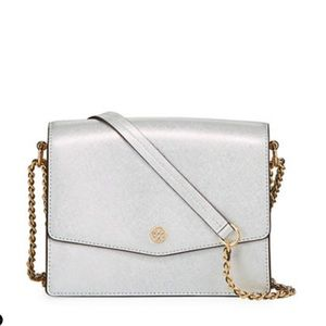 Tory Burch Silver Shoulder bag